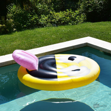 Grand Matelas de Piscine Gonflable Emoji