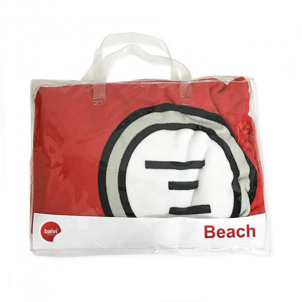 Serviette de Plage Combi Sac de transport inclus