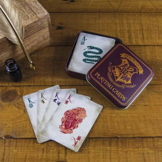 Jeu de Cartes Hogwarts Harry Potter Jeu de 52 cartes