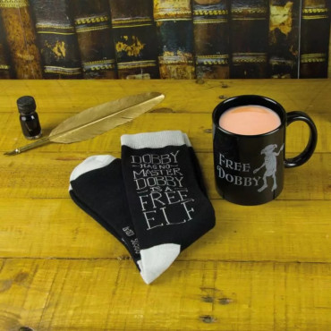 Set de Chaussettes et Mug Dobby Harry Potter mug&socks harry potter img 1