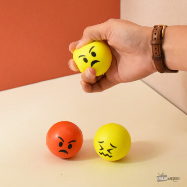 Balles Anti-Stress Emoji (x3)