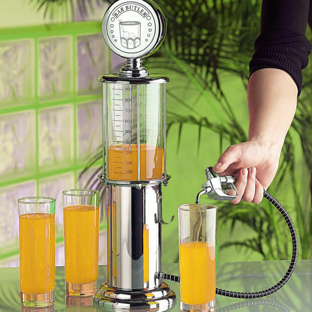 Distributeur de Boisson Pompe à Essence Punch