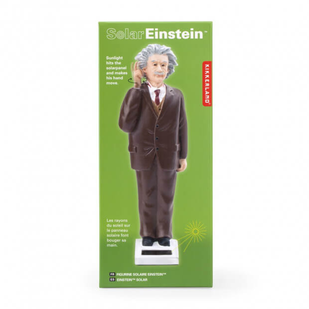 Figurine Einstein Solaire Packaging