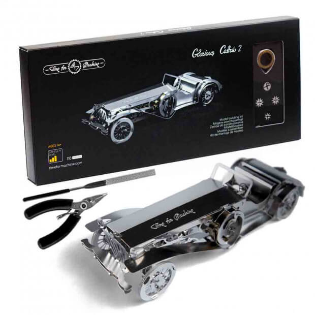 Maquette Metal Voiture Glorious Cabrio Packaging