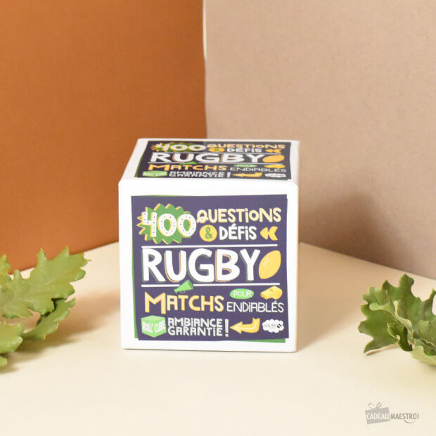 Rollcube Rugby 400 questions et défis !
