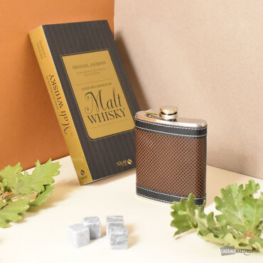 Coffret Cadeau Whisky Flasque