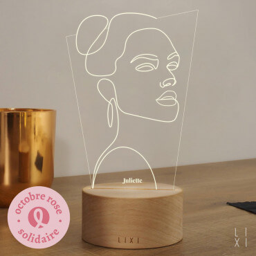 Lampe Lixi Girl Power à Personnaliser