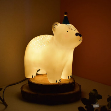 Lampe Ourson Blanc