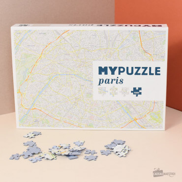 MyPuzzle Paris Carte de Paris
