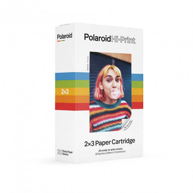 Papier Photo Pour Hi-Print Polaroid (x20) recharge_imprimante_polaroid_1