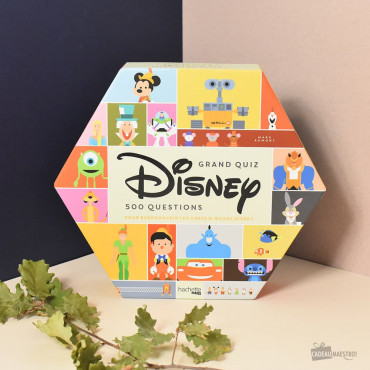 Boîte à Quiz Disney packaging