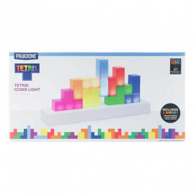 Lampe Tetris lampe tetris packaging