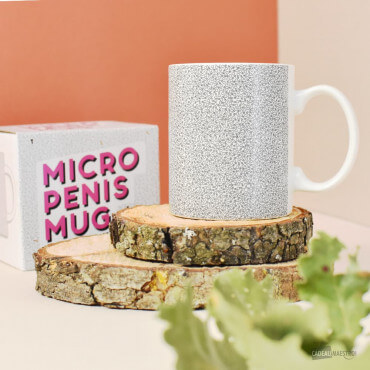 Mug Micro Penis Mug et packaging