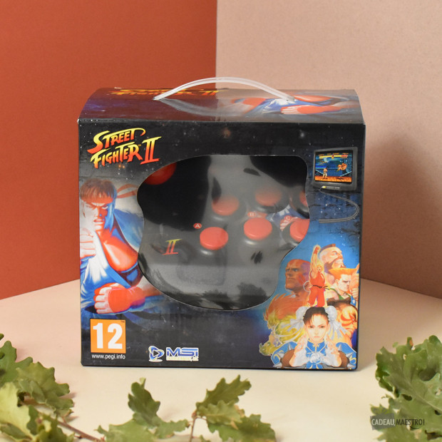 Mini Console d'Arcade Street Fighter II packaging