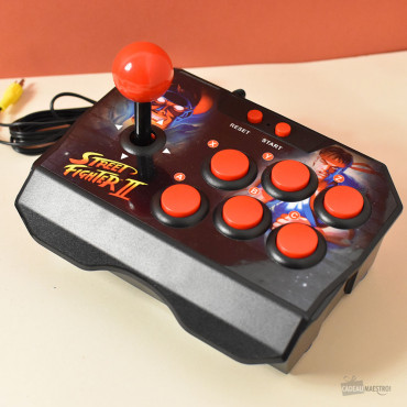 Mini Console d'Arcade Street Fighter II boutons