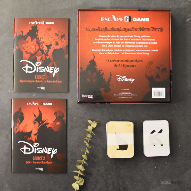 Escape Game Disney Escape Game Disney Verso