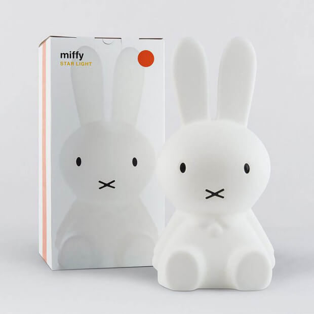 Lampe Lapin Miffy Packaging