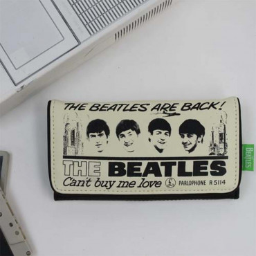 Portefeuille The Beatles portefeuille Beatles mis en situation face avant
