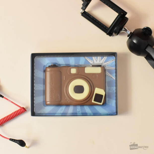 Coffret Appareil Photo en Chocolat Packaging
