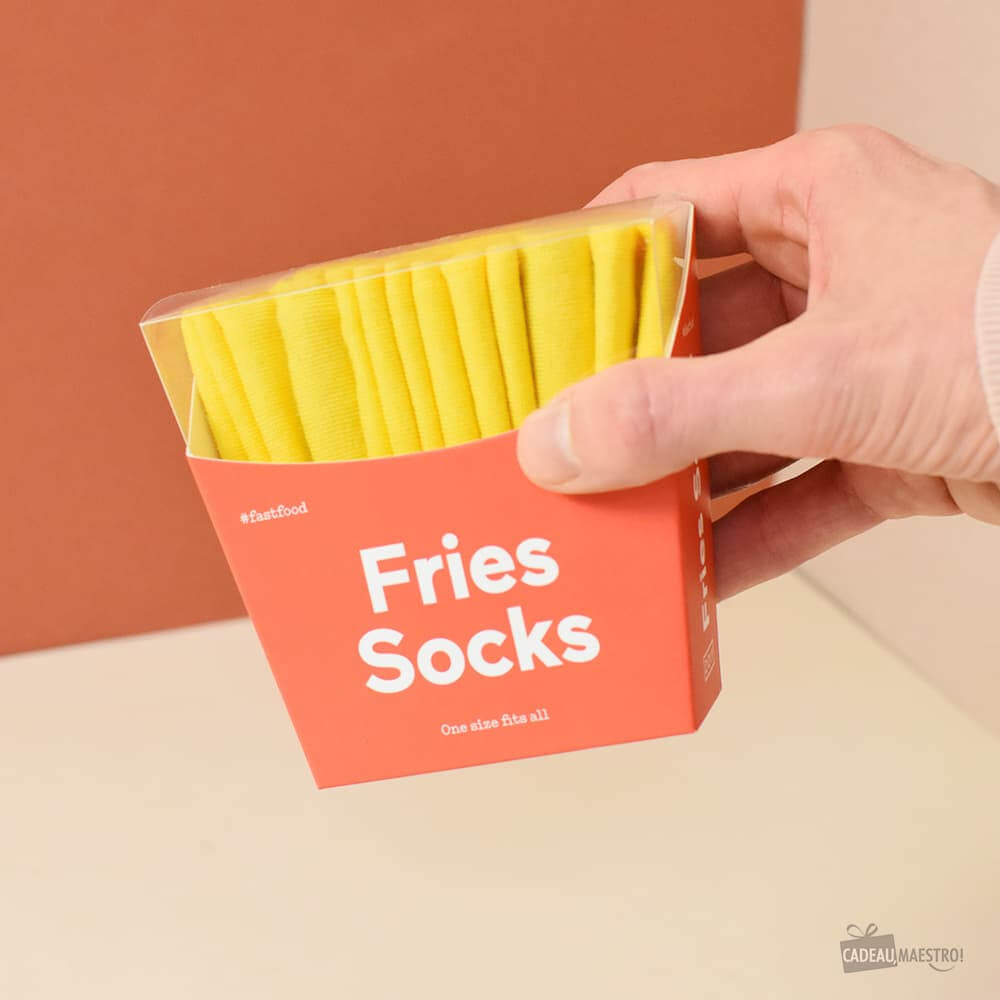 Chaussettes Frites Chaussettes fast-food
