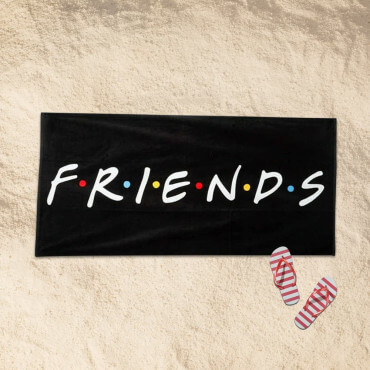 Serviette de Plage Friends Originale