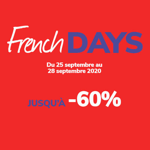 French Days de rentrée